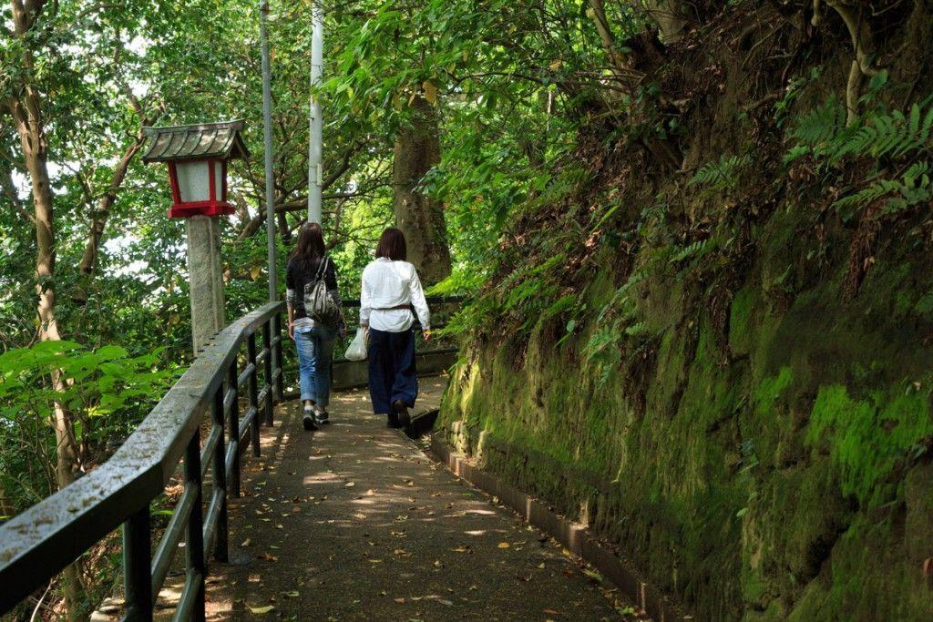 江の島 児玉神社の参道
